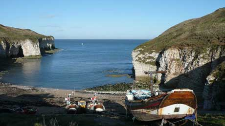 North Landing Flamborough - East Yorkshire
