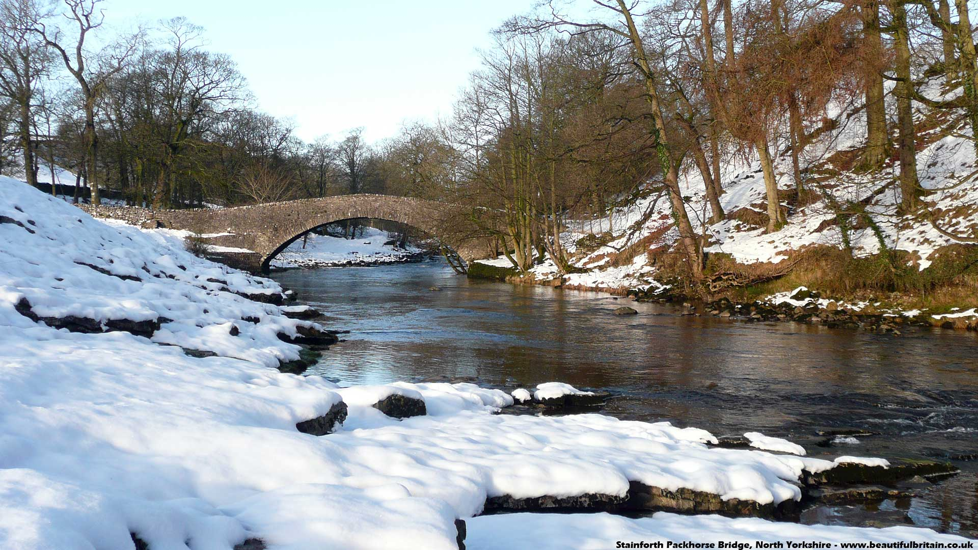 Stainforth Packhorse Bridge North Yorkshire