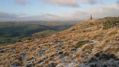 Stoodley Pike, Todmorden - West Yorkshire
