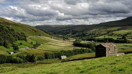 Swaledale, North Yorkshire - Looking towards Gunnerside