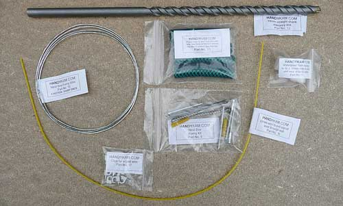 HANDYKAM's extensive nest box fixing kit