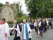 The procession to Cucklett Delf