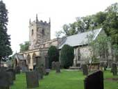 Eyam Church - Derbyshire
