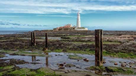 St. Mary's lighthouse, Whitley Bay - North Tyneside