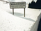 Wanlockhead - the highest village in Scotland