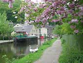 The Rochdale Canal - Hebden Bridge W.Yorks.
