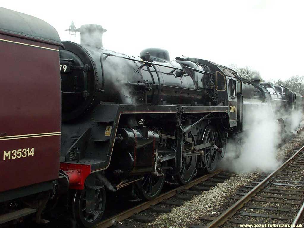 The East Lancashire Railway - steam engines - wallpaper