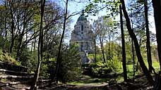 The Ashton Memorial, in Williamson Park, Lancaster (OS Grid Ref. SD487612 Nearest Post Code LA1 3RF)
