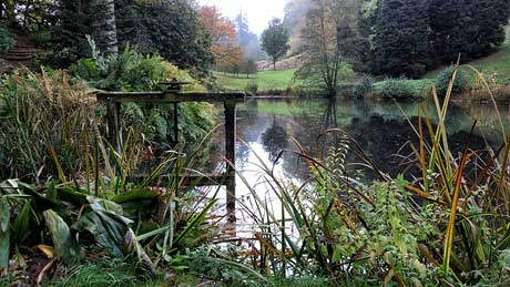 The Stable Pond - Powis Castle Gardens, Wrexham (OS Grid Ref. SJ214062 Nearest Post Code SY21 8RG)
