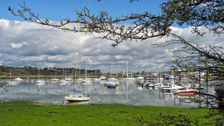 Bembridge Harbour - Isle of Wight (OS Grid Ref.  SZ633884 Nearest Post Code  PO33 1XQ)