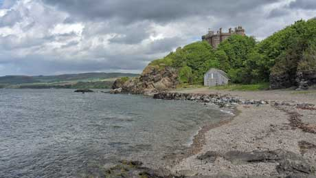 Culzean Castle & Boathouse, Ayrshire (OS Grid Ref. NS231102 Nearest Post Code KA19 8LE)