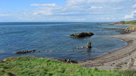 Dunure, South Ayrshire (OS Grid Ref. NS252158 Nearest Post Code KA7 4LX)