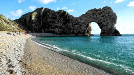 Durdle Door - Dorset (OS Grid Ref. SY805802 Nearest Post Code BH20 5PU)
