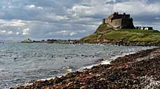 Lindisfarne Castle - Holy Island, Northumberland (OS Grid Ref. NU137417 Nearest Post Code TD15 2SH)