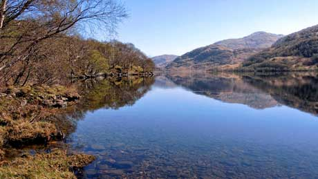 Loch Eilt, Lochaber - West Highlands of Scotland (OS Grid Ref. NM799827 Nearest Post Code PH38 4LZ)