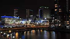 MediaCityUK - Salford Quays (OS Grid Ref. SJ806972 Nearest Post Code M50 3UB)