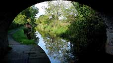The Montgomery Canal, Maesbury Marsh - Shropshire (OS Grid Ref. SJ309249 Nearest Post Code SY10 8RE)