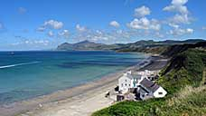 Porthdinllaen beach - on the Llŷn Peninsula in Gwynedd (OS Grid Ref. SH280408 Nearest Post Code LL53 6DA)