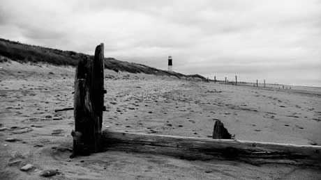 Spurn Point, East Riding of Yorkshire (OS Grid Ref. TA409119 Nearest Post Code HU12 0UG)