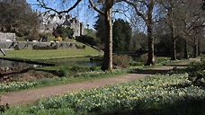 St. Fagan's Castle & Gardens - Cardiff (OS Grid Ref. ST118772 Nearest Post Code CF5 6EA)