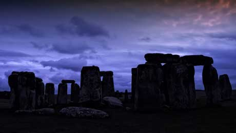 Stonehenge - Amesbury, Wiltshire (OS Grid Ref. SU122422 Nearest Post Code SP4 7DD)