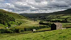 Swaledale - North Yorkshire, looking towards Gunnerside (OS Grid Ref. SD888987 Nearest Post Code DL11 6DU)