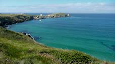 Towan Head - Newquay, Cornwall (OS Grid Ref. SW802624 Nearest Post Code TR7 1FX)