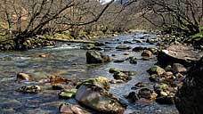 The Water of Nevis, Glen Nevis - Highland (OS Grid Ref. NN145684 Nearest Post Code PH33 6SY)