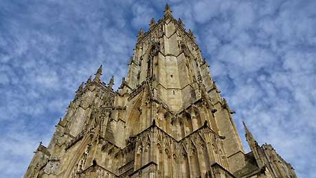 York Minster, City of York (OS Grid Ref. SE602521 Nearest Post Code YO1 7HS)