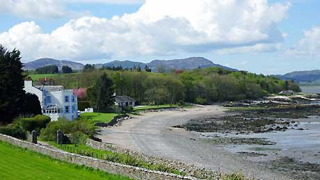 Balcary Bay Hotel, Auchencairn Dumfries & Galloway (OS Grid Ref. NX822494 Nearest Post Code DG7 1QZ)