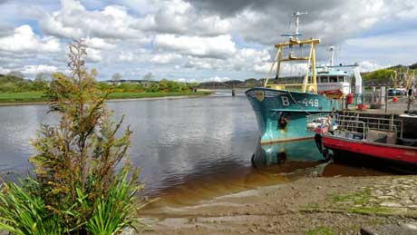 Kirkcudbright Quayside, Dumfries & Galloway (OS Grid Ref. NX683511 Nearest Post Code DG6 4HY)