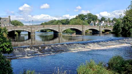 The River Cree, Newton Stewart - Dumfries and Galloway