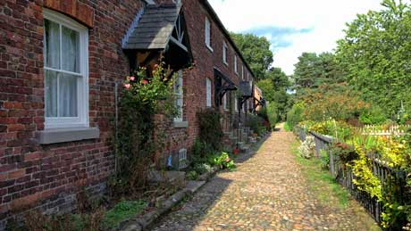 Oak Cottages, Styal Village, Cheshire