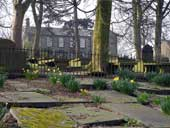 Haworth Churchyard and The Bronte Parsonage - West Yorkshire (SE029372)