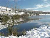 Cowm Reservoir - Whitworth - Lancashire (SD878192)