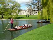 The River Cam & St. John's College - Cambridge (OS Grid Ref. TL4455867)