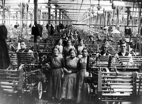 english versus japanese female mill workers Manual labor pre- and non-industrial labor female textile mill workers were the first group of american laborers to the mill workers' demographics changed.